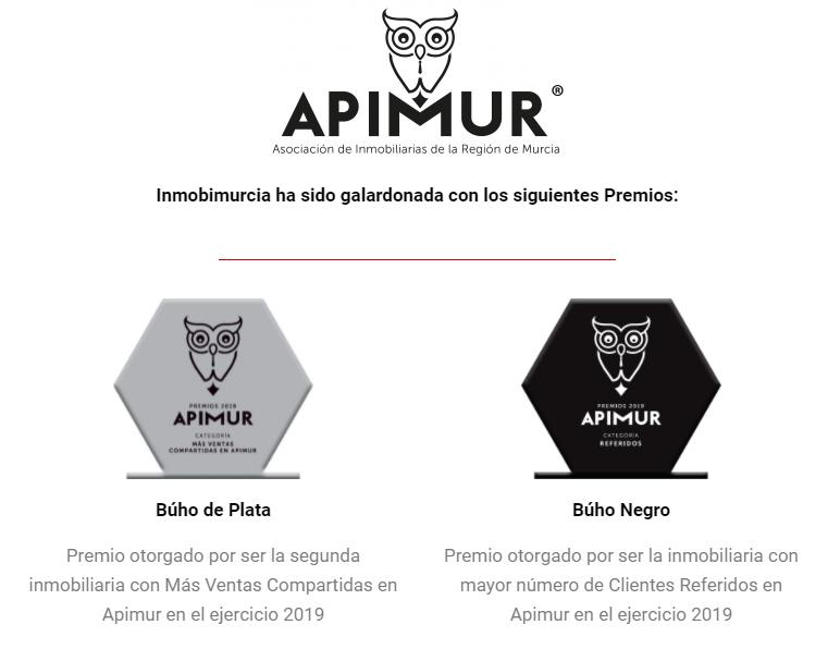 Mejor Inmobiliaria en Murcia - Premios